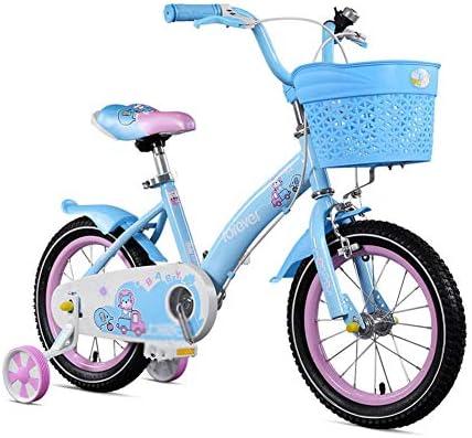 DT Bicicleta para niños 2-3-6-8 años Niña Carro de bebé 16 ...