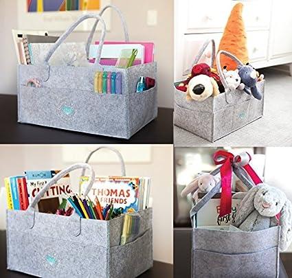 Baby Diaper Caddy Organizer | Nursery Storage