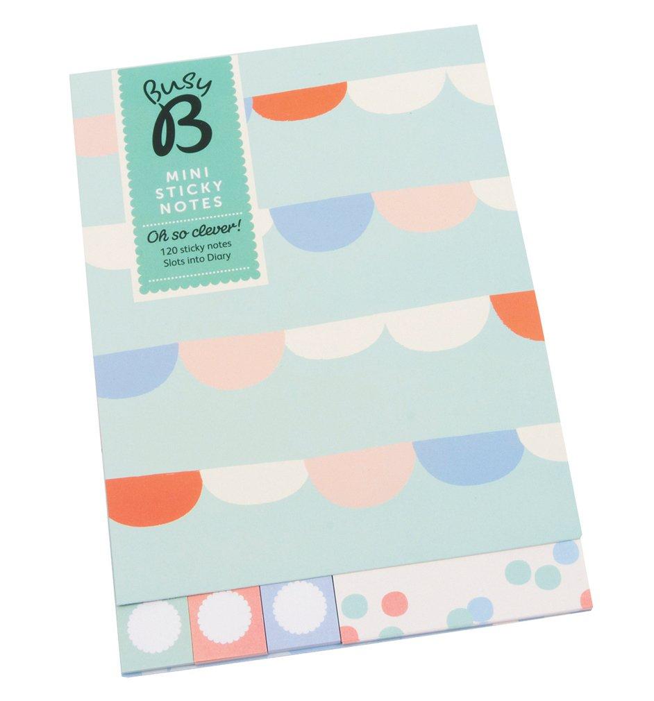 Busy B - Piccoli note adesive adesivi, colore: blu 5150