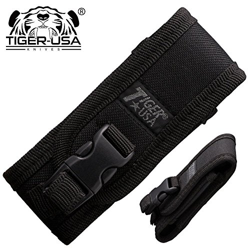 Tiger USA Black Nylon Folding Pocket Knife Carrying Case