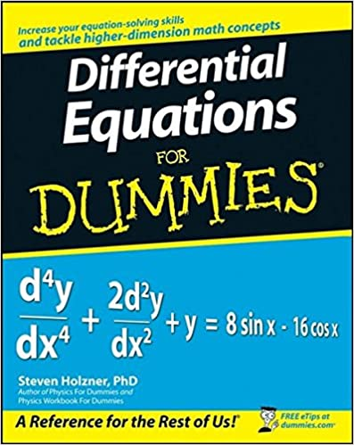 Differential Equations For Dummies: Steven Holzner: 9780470178140 ...