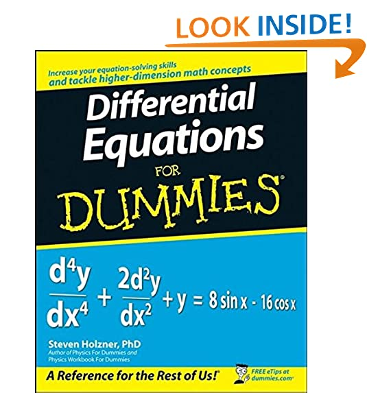 Differential Equations: Amazon.com
