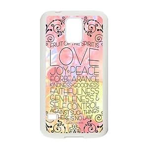 Nymeria 19 Customized Bible Diy Design For Samsung Galaxy S5 Hard Back Cover Case DE-71