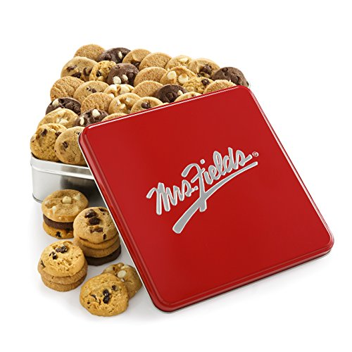 Mrs. Fields Classic Nibbler Tin, (Pack of 60)
