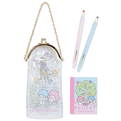 Costume In Film Definition (Sanrio Little Twin Stars vinyl purse pouch containing mini Stationery Sets From Japan New)