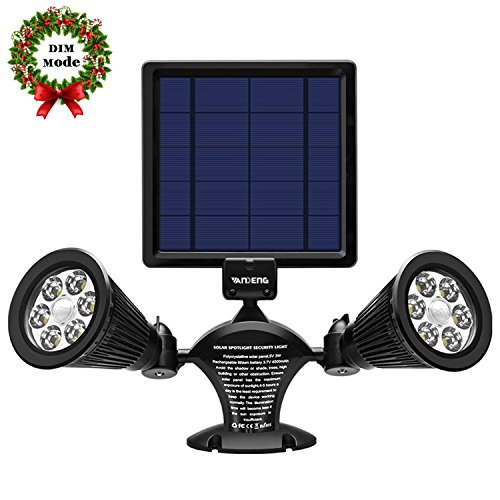 12 Led Solar Flood Light - 8