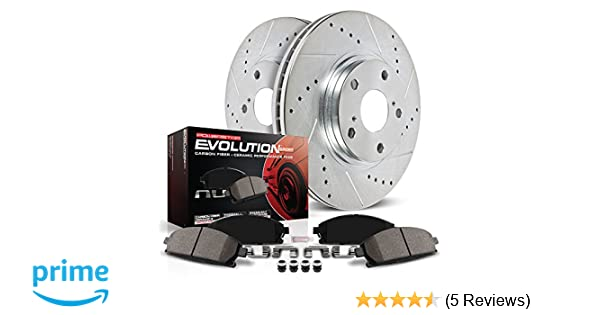 Tiburon Front Rear  Drill Slot Brake Rotors+Ceramic Pads For Hyundai Elantra