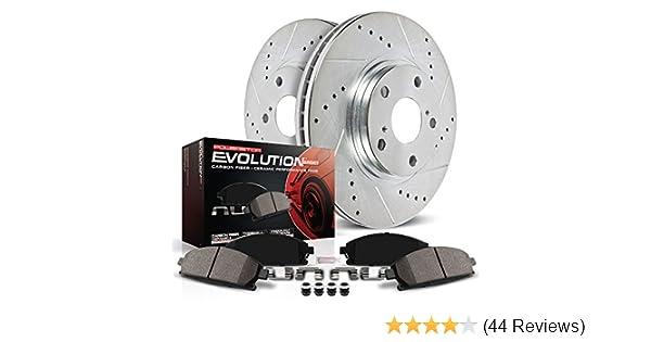 Amazon com: Power Stop K1905 Front Z23 Evolution Brake Kit