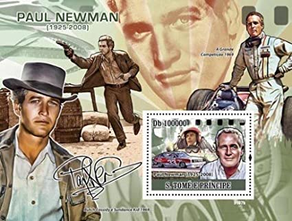 Amazon Paul Newman Butch Cassidy Collectible Postage Stamp 1956