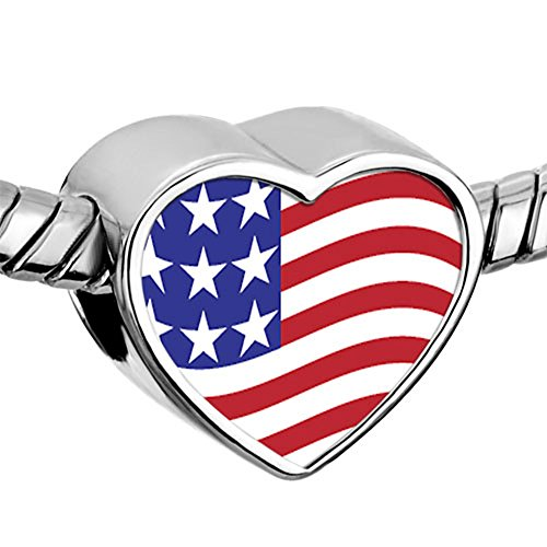 CharmSStory American Charms Heart Bracelets
