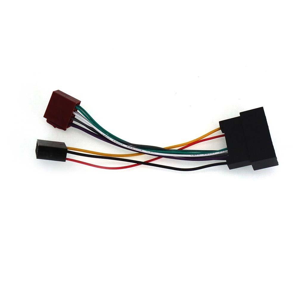 ZWNAV 12-040 standard ISO-Adattatore cablaggio autoradio per FORD 2011 2011 LAND ROVER-Cavo Audio Autostereo TECH