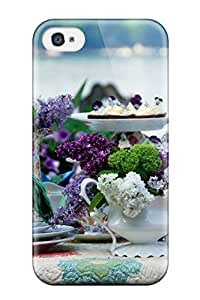 DustinHVance JKsiyxd391ExSpd Case For Iphone 4/4s With Nice Tea Christmas And Screensavers Appearance