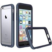 RhinoShield Coque pour iPhone 6 Plus/iPhone 6s Plus [Bumper CrashGuard]   Housse Fine avec Technologie Absorption des Chocs [Résiste aux Chutes de Plus de 3,5 mètres] - Bleu Foncé