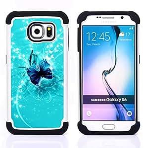 - Nature Fish Friends/ H??brido 3in1 Deluxe Impreso duro Soft Alto Impacto caja de la armadura Defender - SHIMIN CAO - For Samsung Galaxy S6 G9200