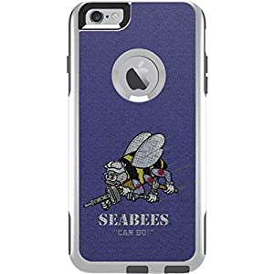 Skinit US Navy OtterBox Commuter iPhone 6 Plus Skin - Seabees Can Do Design - Ultra Thin, Lightweight Vinyl Decal Protection by Skinit