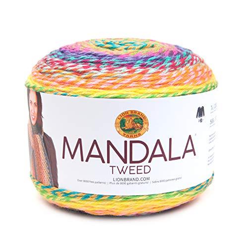 Lion Brand Yarn Mandala Tweed Hometown Yarn, arn, Seven