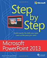 Microsoft PowerPoint 2013 Step By Step Front Cover