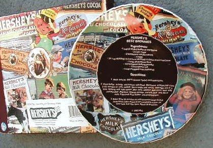 Hershey Recipe Brownies Collector Plate