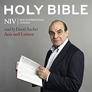 The NIV Audio Bible, Acts and Letters Audiobook