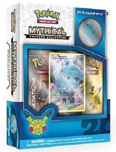 Pokemon Manaphy Mythical Collection Gene