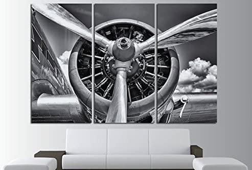 Airplane Take Off Different Engine Retro Aircraft Art Wall Cloth Poster 14