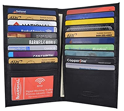Camouflage Mens RFID Blocking Deluxe Credit Card Case Camo Wallet Leather Secretary