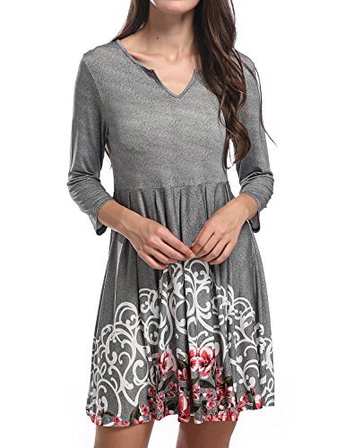 Jersey Pleated V-Neck Dress - 6