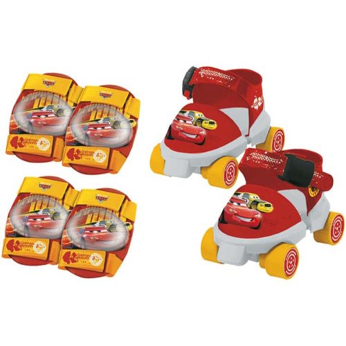 MONDO - A1102540 - Vélos et Véhicules pour enfants - Patins à roulettes Cars + Protections product image