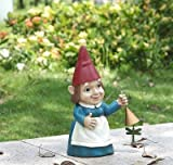 Cheap Gnome Lady Rings Dinner Bell