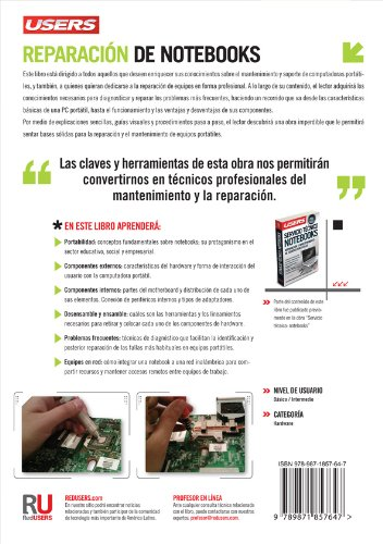 ... RedUsers Usershop, Español Espanol Espaniol, Libro libros Manual computación computer computador informática PC: 9789871949007: Amazon.com: Books