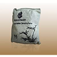 500g Bamboo Charcoal Air Purifier Bag Deodorizer and Air Freshener Remove Odor and Control Moisture in Your RV, Camper, SUV, Car, Semi truck, Closet, Mobile Home, Storage Non fragrance (Light Green)