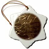 3dRose TDSwhite – Rock Photos - Mars Geology Space Theme Science - 3 inch Snowflake Porcelain Ornament (orn_281895_1)