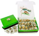 LUXURY BAKLAVA PASTRY SAMPLER SET (20 Oz) Hallab 1881, Taste the Unique, ORIGINAL Most Prestigious Assorted Baklava Sweets (Best Gift idea) (Gift Box 20 Oz, Baklava Variety Pack)Doggy Supply Mall