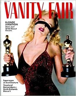 vanity fair magazine april 1984 keith richards helmut newton photographs blondes more