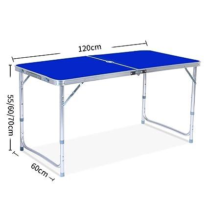 1e340d66feee Amazon.com : Aobeau Outdoor Portable Picnic Folding Beach Table With ...