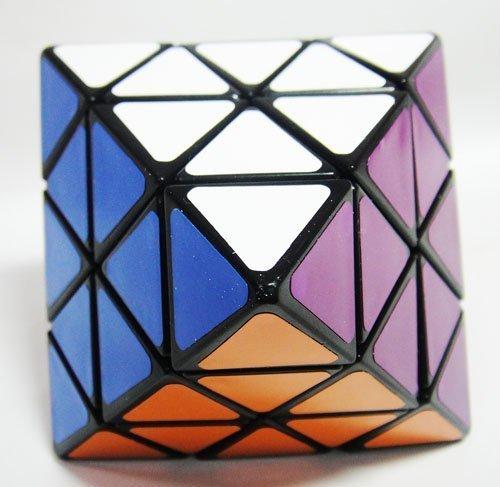 LanLan Face Turning Octahedron Speed Cube Black