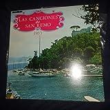 Las Canciones De San Remo 1963 / San Remo's Songs 1963 (Ricordi Venevox // Vinyl)