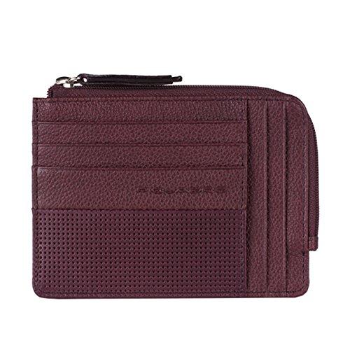 rivenditore di vendita e7635 4098c Bustina in pelle portamonete, porta carte di credito e porta ...