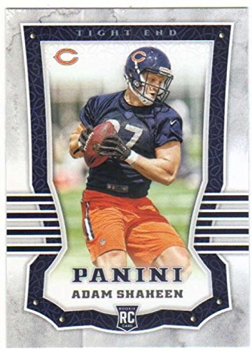 2017 Panini #186 Adam Shaheen Chicago Bears Rookie Football Card