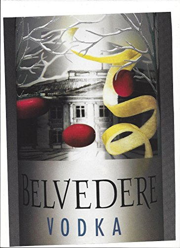print-ad-for-belvedere-vodka-lemon-twist-close-up-bottle-print-ad