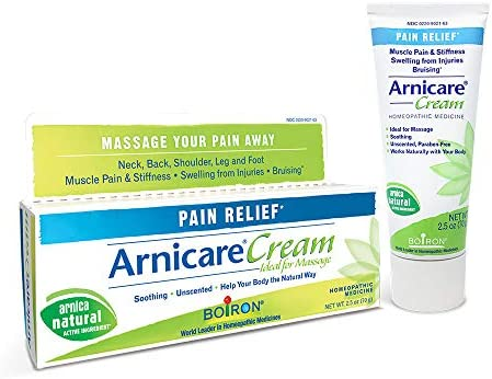 Boiron s Topical Pain Relief Cream, Arnicare Cream, 2.5 Ounce (Pack of 1)