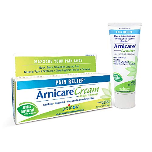 Boiron Arnicare Cream, 2.5 Ounces, Topical Pain Relief Cream