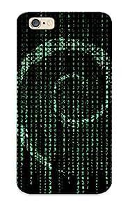 Podiumjiwrp Premium Protective Hard Case For Iphone 6- Nice Design - Matrix Debian
