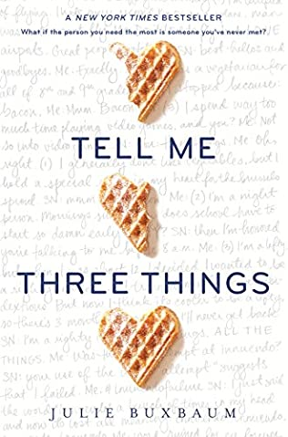 book cover of Tell Me Three Things