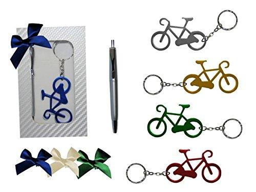 Lote de 25 Estuches de Madera con Llavero Abridor Bicicleta y ...