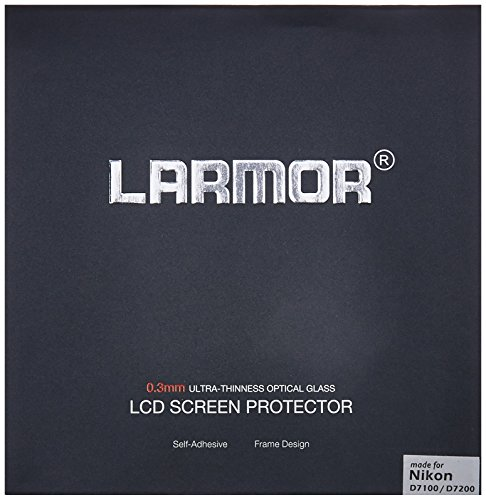GGS LARMOR Screen Protector for Nikon D7100, Nikon D7200