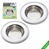 "Tools & Hardware : Fengbao 2PCS kitchen sink strainer, Large Wide Rim 4.5"" Diameter - Modle4"