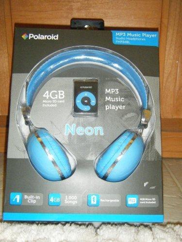 Polaroid MP3 Music Player PMP84BL w/ Headphones