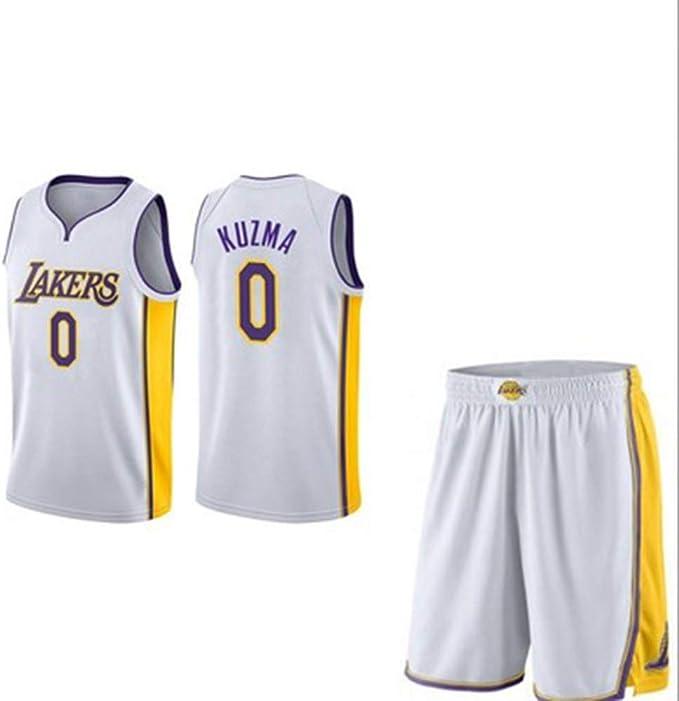 MHDE Lakers 0 Uniformes De Baloncesto Kuzma Uniformes Deportivos ...