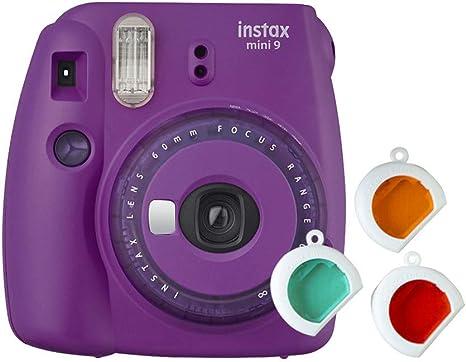 meilleur recherche de liquidation super mignon Instax Mini 9 Appareil Photo Transparent Violet